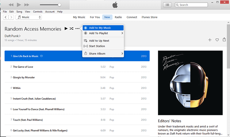 how to get apple music on windows